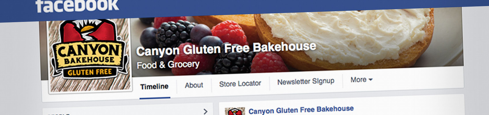 Canyon Bakehouse Facebook Scraper